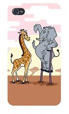 Elephant Stilts Standing Giraffe FITS iPhone 5 5s Plastic Snap On Case Cover New