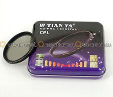 TIANYA 49mm 49 mm XS-Pro1 Glass Circular Polarizing C-PL PL-CIR Slim CPL Filter
