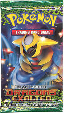 Pokemon Cards - BW DRAGONS EXALTED - Booster Pack - New Factory Sealed