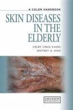 Skin Diseases in the Elderly: A Colour Handbook (A Color Handbook)-ExLibrary