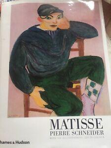Matisse -Pierre Schneider - Hardback 1984 - T&H First Edition (PW)