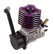HSP 02060 Purple VX 18 Engine 2.74cc Pull Starter RC 1:10 Nitro Car Buggy EG630