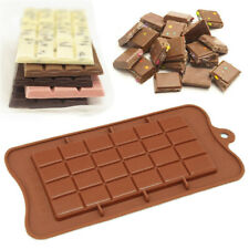 Square Chocolate Mould Bar Block Slab Silicone Cake Candy Sugar Decoration Mold