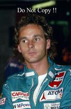 Gerhard Berger BENETTON F1 Ritratto Fotografia 1986