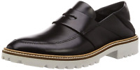 ECCO Women's Women's Incise Tailored Loafer Flat, Black, 40 M EU 9-9.5 US