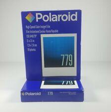 2 Polaroid 779 Plus Instant Color Film Instant Film Camera Expired 11/06
