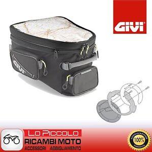 GIVI BORSA SERBATOIO TANKLOCK EA118 + BF02 TRIUMPH SPRINT GT 1050 2010 2011 2012