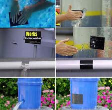 """Neu Flex Tape Wasserfeste Pflaster Wasserrohr Band Wasserdicht Klebeband 4""""x5'"""