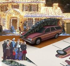 Papercraft Christmas Vacation Movie 1989 Ford Taurus Wgn w/TREE EZU-make 1/27th