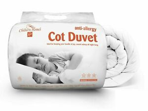 Luxury Cot Duvet Quilt Bed Hotel Quality Poly Cotton Cot Pillow All TOG Sizes