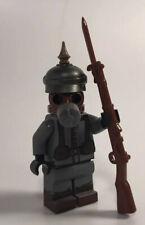 Lego ww1 ww2 Custom Army Axis Soldier Brickarms Made With Real Lego(R)