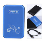 "Metal Sata to USB 3.0 2.5"" External HDD HD Hard Drive Disk Enclosure Cover Case"