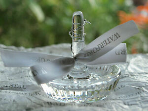 Waterford Crystal Round Ring Holder from Heritage Collection Mint