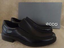 ECCO Mens Inglewood Slip on Black Leather Low Cut Shoes US 12 - 12.5 M EU 46 NWB
