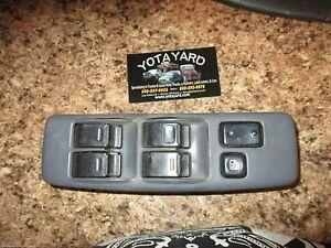 92-96 TOYOTA CAMRY GRAY DRIVER LEFT MASTER POWER WINDOW SWITCH YOTA YARD