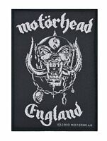 Motorhead England Woven Patch Official Merchandise