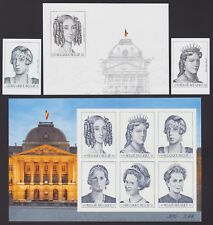Belgique 2001 Cob# 2968/76 NON DENTELES Imperforate MNH - Cat Val 290€....A4420