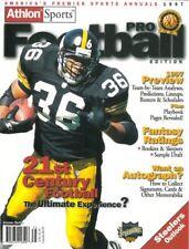 Jerome Bettis Pittsburgh Steelers Athlon Sports 1997 NFL Pro Football Magazine