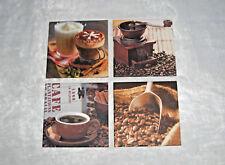 "4 Kaffeebilder/Küchenbilder  ""Cafe, Coffee, Espresso, Cappuccino , Kaffee, Nr.16"