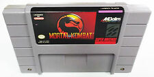 Mortal Kombat (Super Nintendo SNES Game) Pins Polished & Tested FREE SHIPPING