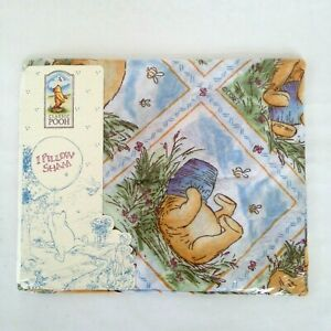 Classic Pooh Pillow Sham By Wamsutta Winnie The Pooh Hunny Pot  New in Package