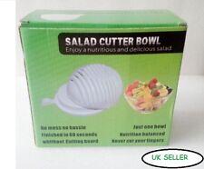 Salad Cutter Slicer Vegetable Fruit Cutting Chopping Bowl Wash 60 Seconds
