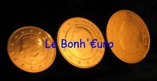 Monnaie 1,2,5 centimes cent cts euro Belgique 2004, neuves du rouleau, UNC