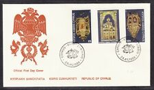 Cyprus 1980 Christmas First Day Cover