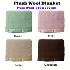 Unbranded 100% Wool Blankets