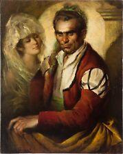 Jose PUYET Padilla, pintor malagueño, óleo lienzo 99x80