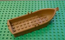 LEGO 2551 BOAT WITH OARLOCKS 14x5x2 BROWN. From sets 6270, 6276, 6278 etc