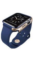 X-Doria - Defense Edge Case for 42mm Apple Watch Blue & Gold
