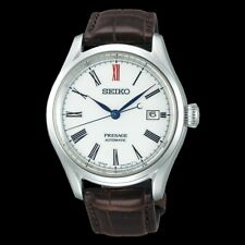 Seiko Presage Arita Porcelain Dial White Men's Watch