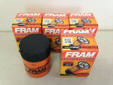 FOUR(4) Fram PH3675 Oil Filter LOT fits TG3675 PF59 PF61 PH59 L25288 51522 LF487