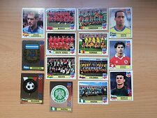 RARE USA 1994 WC WM 94 World Cup  PANINI lot of 14 Stickers DUTCH red backs