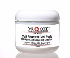 20% Glycolic Cell Renewal Peel Pads, Salicylic Acid, Lactic Acid, Argireline.