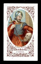 antico santino cromo-holy card-S.MARTINO DI TOURS