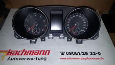 Tacho Original VW Golf VI TSI  12/2010  5K0920861  166413 Km   CAXA  6 Gang