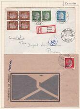 World War II German Occupation of Estonia. Three Covers.