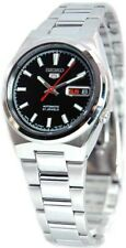 Seiko 5 Automatic SNKC55J1 Black Dial Stainless Steel Men's Watch
