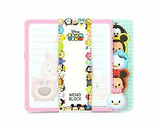 Disney Tsum Tsum Memo Block Note Pad 80 Pages - Minnie / Mickey Mouse - BNIP