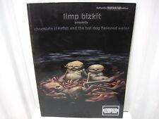 Limp Bizkit Chocolate Starfish Hotdog Flavored Water Guitar Tab Sheet Music Book