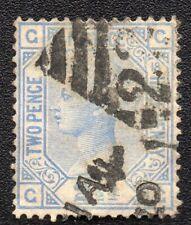 ROYAUME UNI ;GREAT BRITAIN ;2 1/2p ;plate 18 ; 1876-80 ; YT 57 ; Scott 68 / L245