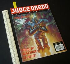 1992 Judge Dredd The Megazine #12 Unread. Free Pt 3 1993 Calendar Attached (C409