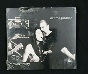"Drama Junkies ""Not As Pretty"" cd New Sealed Top of cardboard sleeve has damage"