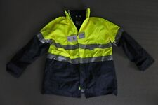ACE APPAREL HiVis 4 in 1 DAY NIGHT RAIN JACKET Industrial Safety Work Size L 107