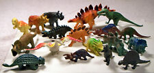 """Lot of 18 Dinosaurs - All Different 2.5"""" to 5"""" Long"""