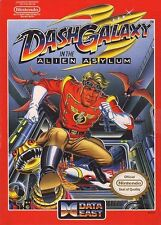 Dash Galaxy In The Alien Asylum NES Great Condition Fast Shipping