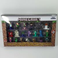 Jada Toys Nano Metalfigs Minecraft Set Of 20 Diecast Mini Figures NEW IN STOCK