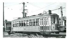 P788 RP 1940s MILWAUKEE ELECTRIC RAILWAY & TRANSPORT CO CAR #752